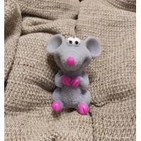Мышка Норушка 3D, форма силиконовая
