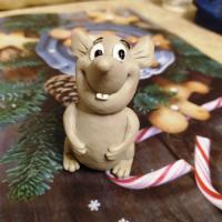 Крыс Ларри 3D, форма силиконовая