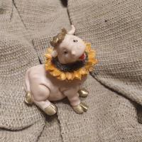 Корова в подсолнухе 3D, форма силиконовая