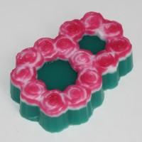 8 марта/Розы ЕХ, форма пластиковая, 1шт