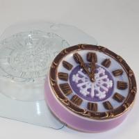 Часы новогодние, ЕХ, 1 шт, форма пластиковая