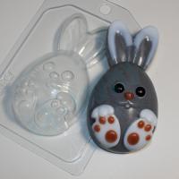 Кролик мультяшный ЕХ, 1шт, форма пластиковая