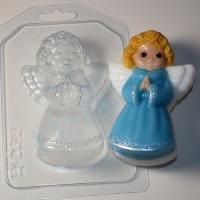 Ангел с соединенными ладонями ЕХ, 1шт, форма пластиковая