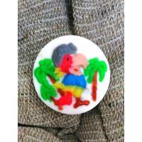 Попугай, форма резиновая