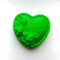 """Сердце """"Любовь навсегда"""" 2D, форма силиконовая"""