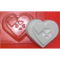 Сердца БП, 1шт, форма пластиковая
