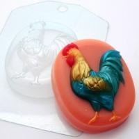 Петух ЕХ, 1 шт, форма для мыла пластиковая