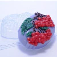 Гроздья рябины ЕХ, 1 шт, форма для мыла пластиковая