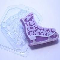 Конек ажурный ЕХ, 1 шт, форма для мыла пластиковая
