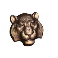 Тигр маска БП, 1 шт,  форма пластиковая